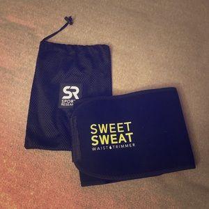 Sweet Sweat waist trimming belt